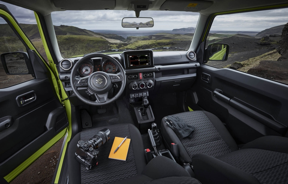 Suzuki Caribbean Jimny: STAY FOCUSED ON WHAT MATTERS