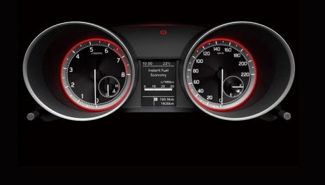 Suzuki Caribbean Swift : HIGHLIGHTS - Multi-information Display