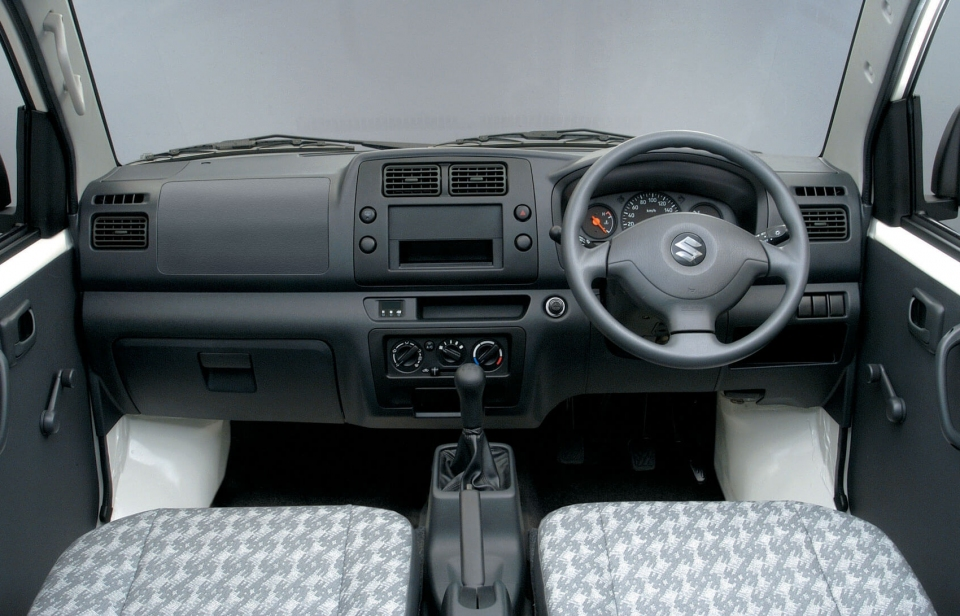 Suzuki Caribbean APV Panel: COMFORT AND UTILITY