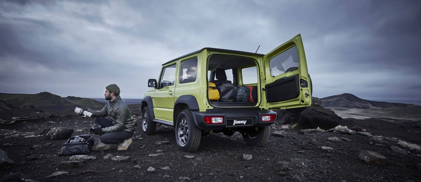 Suzuki Caribbean Jimny: MORE ROOM. MORE ADVENTURE.