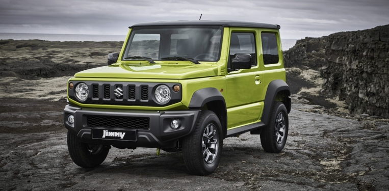 Suzuki Saint Barthélemy: Giant-slaying Jimny 4x4
