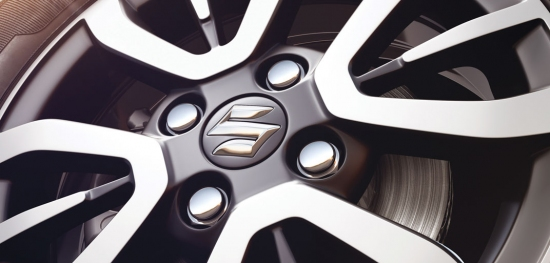 12 Spoke Machine Finish Alloy Wheel